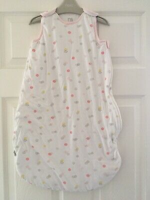 2 X Mothercare 2.5 Tog Baby Sleeping Bags 0-6 Months