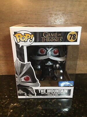 Funko Pop Game Of Thrones The Mountain Walmart Exclusive!
