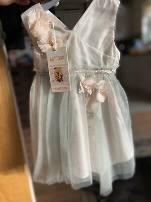 monsoon baby dress 3-6 months