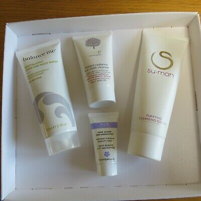 Skin care bundle, body and face
