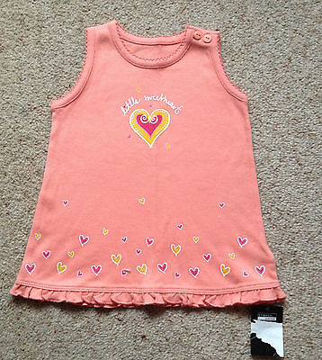 Baby Girls Sleeveless Summer Dress From George  Age 3-6 Months  Bnwt