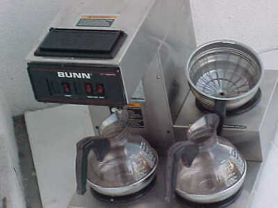Bunn Vp-17 3 Buner Stainless Steel Pour Over Commercial Coffee Maker