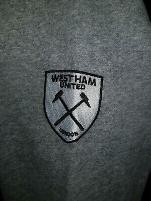 Official West Ham Hoody Small E20 - Ladies/Mens Worn Once