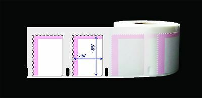 12 Rolls(700pcs/roll) Dymo Comp. 30915 Postage Stamp Labels