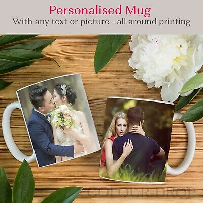 Personalised Mug Print With Text Photo Funny Custom Printed Valentines Day Gift