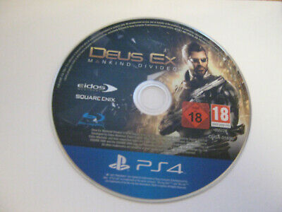 Deus Ex: Mankind Divided ps4 game only