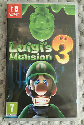 Nintendo Switch Luigi's Mansion