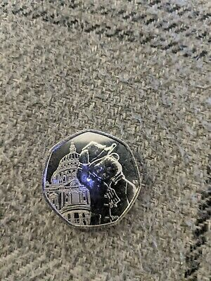 2019 Rare Paddington Bear At St Pauls Cathedral 50P Fifty Pence Coin