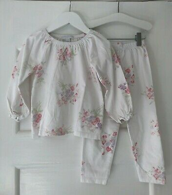 Little White Company Girls Floral PJs, Age 2-3, Great Condition, Really Cute!