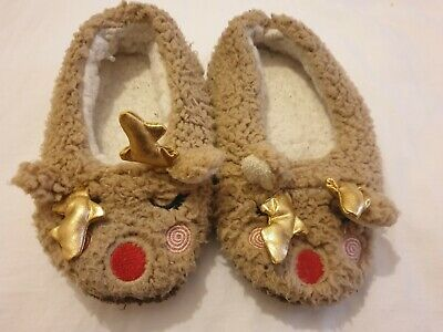 Reindeer Slippers Size 13