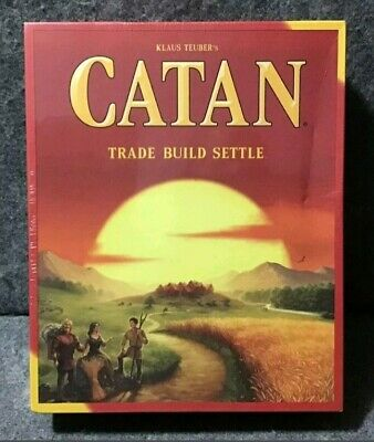 New The Settlers of Catan 5th Edition Board Game Party School Holiday Game​