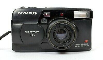 Olympus Super zoom 105 compact 35mm Film Camera with 38-105mm Lens