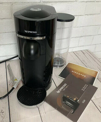 Delonghi Nespresso Vertuo Plus Espresso Machine Coffee Maker Black