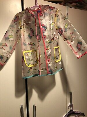 Girls Peppa Pig 2-3 Years Raincoat - Brand New Without Tags!