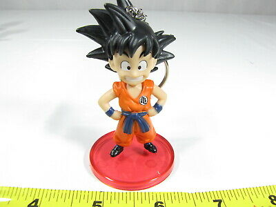 2pcs Dragon Ball son gokou PVC key chain ornament key chains figure cute