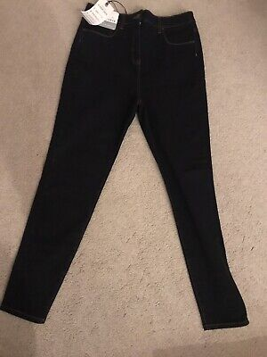 Next Dark blue hypercurve skinny Super high waist jeans size 10 Reg