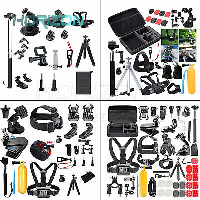 Black Accessories Kit Action Camera Set lot NEW 2020 For GoPro Hero 8/7/6/5