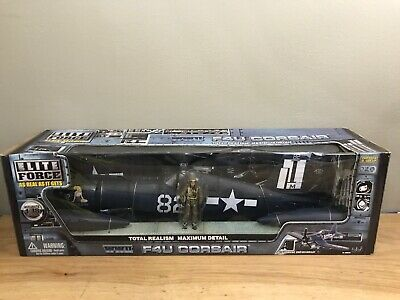 1//18 21ST CENT MOTORWORKS ULT SOLDIER XD US NAVY F-4U CORSAIR FIGHTER PLANE WW2