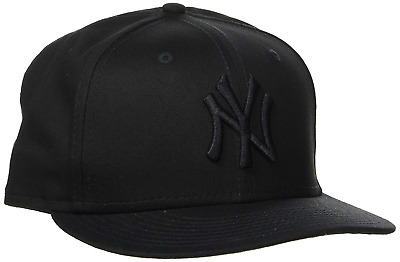 Era Men's 9FIFTY NY Snapback Baseball Cap, Black, Medium Manufacturer