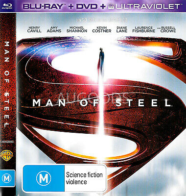 Man of Steel - Rare- Aus Stock Blu-Ray NEW