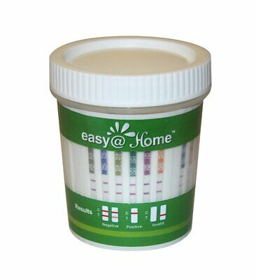4 Pack Easy@Home 12 Panel Drug Test Cup Kit with Temperature Strip ECDOA-7124