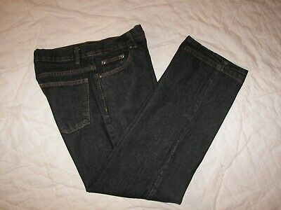 Boys Faded Glory Black Denim Jeans - 16H