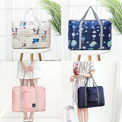 Portable Storage Hand Duffle Luggage Carry-on  Big Foldable ShoulderBag Travel