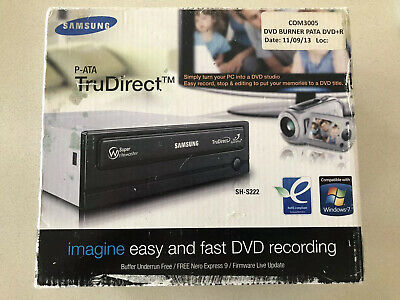 New Samsung TruDirect Internal DVD Writer SH-S223