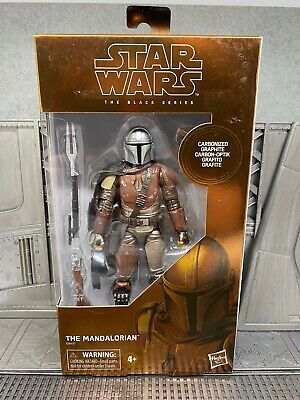 "Star Wars The Black Series Carbonized Mandalorian 6"" Figure Target Exclusive New"
