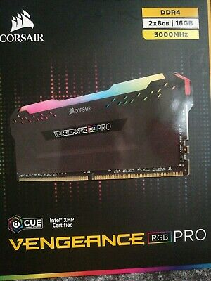 Corsair Vengeance RGB PRO 16GB (2x8GB) DDR4 3000MHz C15 Desktop Gaming Memory