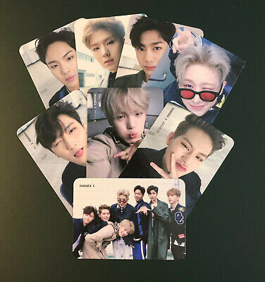 Monsta X - The Clan Photocards - Found Ver.