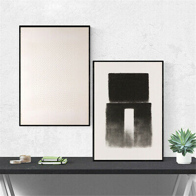 Nordic Black White Minimalist Art Canvas Poster Wall Picture Home Abstract Decor
