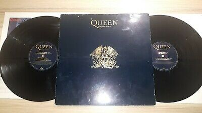 Queen - Greatest Hits II ( 2 ) Original DOUBLE LP Albums Vinyl Records Radio Ga