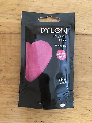 Dylon Hand Dye Passion Pink 50g Pack