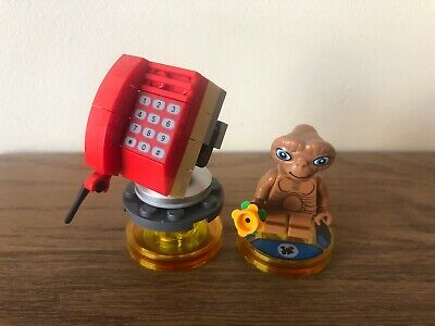 Lego Dimensions E.T. ET Fun Pack #71258 PS4 Xbox One WiiU Complete.