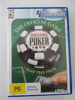 - WORLD SERIES POKER [2 PC CD-ROM] PLAY WITH THE PROS [By ACTIVISION]