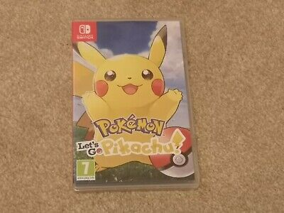 Pokemon Lets Go Pikachu - Nintendo Switch