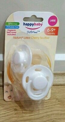 Happy Baby Cherry Dummies 6-9months Discontinued