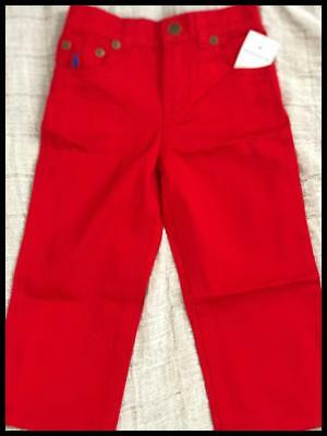 Ralph Lauren Red trousers for 24 months boy 100% cotton, exclusive of decoration
