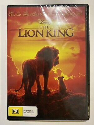 The Lion King DVD 2019 BRAND NEW & Sealed Movie 🍿 Region 4 Aus Rated PG Disney