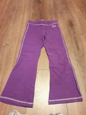 girls purple tracksuit bottoms age 5 years from oshkosk