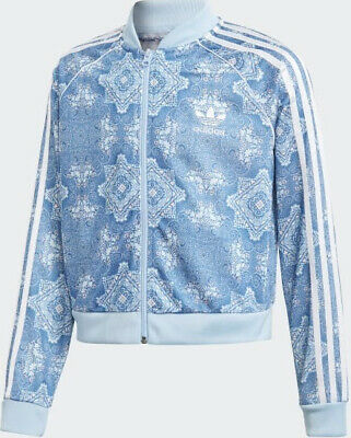 Adidas Originals Girls Culture Clash Cropped SST Jacket