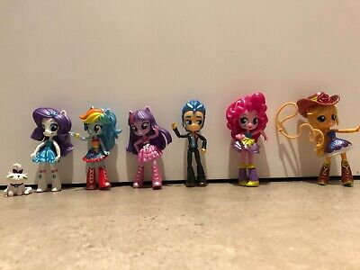 My Little Pony Equestria Girls, set of 6 characters, 5""