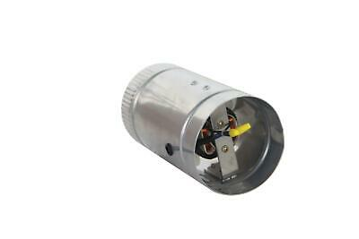 """4""""Inline Duct Fan Booster Exhaust Blowers Exhaust Ventilation Vent Blower"""