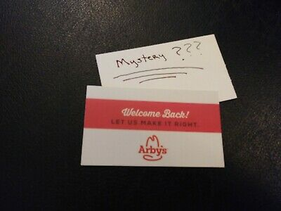 (1) Arby's Combo Meal Voucher+1 Mystery Combo Meal Voucher (No Expiration)