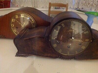 Mantle Clocks Junghans And One Unnamed Mantel Clock