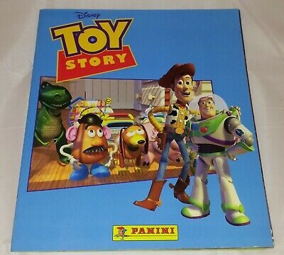 Toy Story : Vintage Panini Sticker Album from 1995 : 100% Complete.
