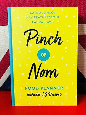 Pinch of Nom Food Planner : Includes 26 New Recipes (Paperback 2019) *NEW*