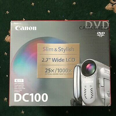 Canon Dc100 DVD Camera
