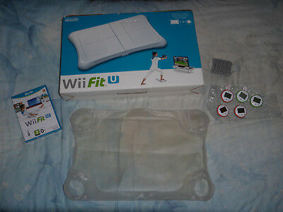 Official Wii Fit U game with Balance Board and Wii U Fit Meters Bundle!!!